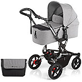Jane Crosswalk Micro Pushchair (Soil/Chrome)