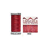 Gutermann Sulky Variegated Cotton 300m Redwork