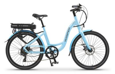 Wisper 705SE Step Through Electric Bike 16Ah Blue