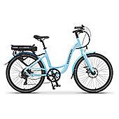 Wisper 705SE Step Through Electric Bike 16Ah Blue