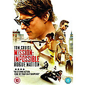 Mission Impossible 5 DVD