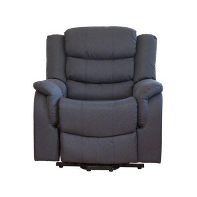 Sofa Collection Madison Fabric 1 Seat Sofa - Dark Grey