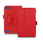 "Orzly ""Stand & Type"" Case, Compatible with the Tesco Hudl 2 - Red"