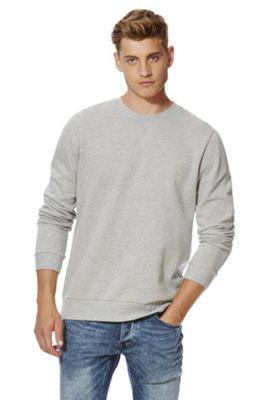 F&F Marl Sweatshirt with As New Technology XXL Grey
