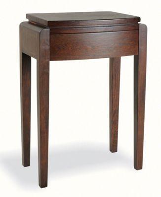 Ultimum Alnwick Dark Oak Tall Lamp Table