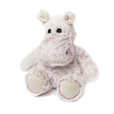 Intelex Warmies Heatable Marshmallow Hippo Microwavable Cozy Plush Soft Toy