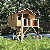 BillyOh Lollipop Junior Tower Children's Wooden Playhouse, 6ft x 5ft