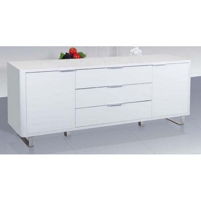 Home Zone Accent Sideboard - White