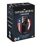 Captain America 1-3 Boxset DVD