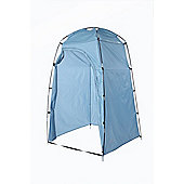 North Gear Camping Toilet Tent Beach Changing Shower Room Storage Blue Outdoor
