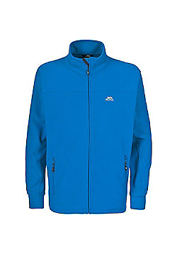 Trespass Mens Bernal Fleece Jacket Granite 3XL - Blue