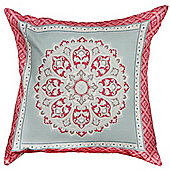 Dreams n Drapes Shantar Pink Cushion Cover - 43x43cm
