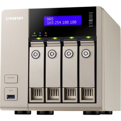 QNAP TVS-463 4 x Total Bays NAS Server - Tower