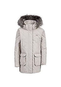 Trespass Girls Reep Quilt Jacket - Beige