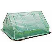 Large Ground Vegetable Greenhouse / Growbag With Strong Reinforced Cover & Side Ventilation