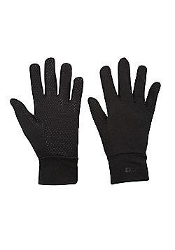 Mountain Warehouse Grippi Lining Gloves - Black