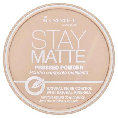 Rimmel Matte Pressed Powder Transparent