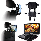 Navitech In Car Portable DVD Player Headrest Mount / Holder For The Tesco 10 inch