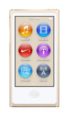 Apple iPod Nano 7th Generation 16GB - Gold