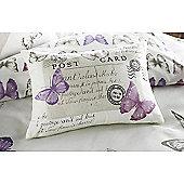 Dreams n Drapes Chantelle Pink Boudoir Cushion Cover- 28 x 38cm