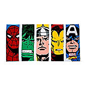 "Marvel Comics ""Strike"" Beach Towel"
