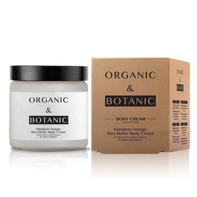 Organic & Botanic Mandarin Orange Shea Butter Body Cream 100ml
