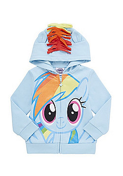 Hasbro My Little Pony Rainbow Dash Hoodie - Turquoise