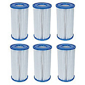 Bestway 58012 Type III Cartridge Filter- Pack Of 6