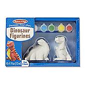 Melissa & Doug Paint your own Dinosaur Models