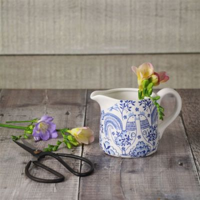 Blue & White Small Porcelain Serving Jug
