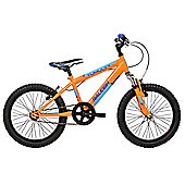 "Raleigh Tumult 18"" Wheel Single Speed Kids Bike Orange"