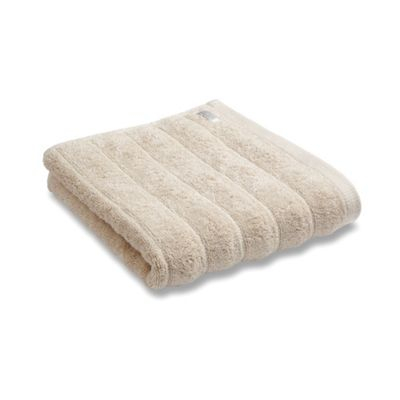 Bianca Cotton Soft Ribbed Bath Towel - Neutral