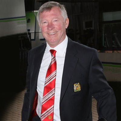 Manchester United FC Club Tie Sir Alex Ferguson SILK
