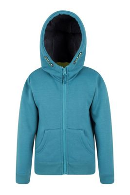 Mountain Warehouse Nordic Fur Lined Full Zip Hoody ( Size: 11-12 yrs )