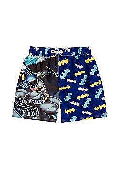 DC Comics Batman Justice League Boys Swim Shorts - Blue