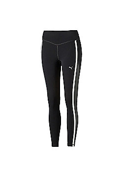 Puma Powershape Womens Running Fitness Legging Tight Black - UK 12