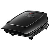 George Foreman 3 Portion Electric Health Grill - Black