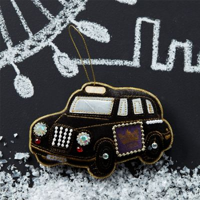 Velvet London Taxi Cab Decoration