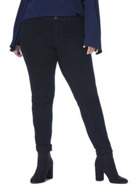 Junarose Slim Fit Plus Size Jeans Dark Rinse 22