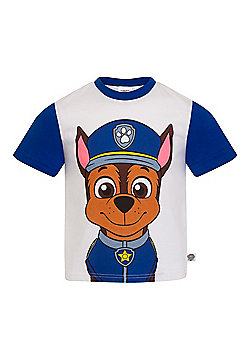 PAW Patrol Boys Kids Character T-Shirt Rocky Chase Rubble - Blue