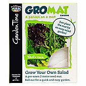 Mr Fothergill's GroMat - Easy-to-Sow Mixed Salad Seeds