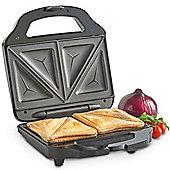VonShef Toastie Maker - 2 Slice Sandwich Toaster