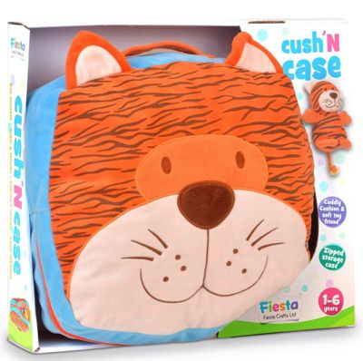 Fiesta Crafts Tiger Cush N Case