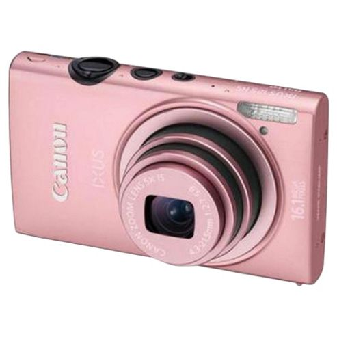 Canon Ixus 125 HS Pink Digital Camera