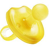 Natursutten Natural Rubber Soother, Butterfly (Rounded) 12 mths +
