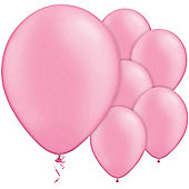 Neon Pink 11 inch Latex Balloons - 100 Pack