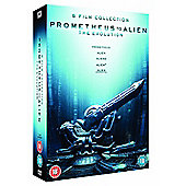 PROMETHEUS TO ALIEN DVD BOX SET