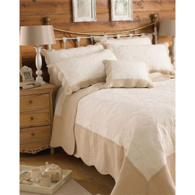 Riva Home Fayence Pillowsham - Ivory & Taupe