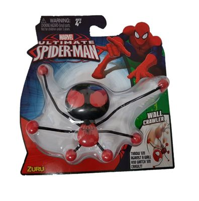Spiderman Creepeez Wall Crawler (Black & Red) #4406