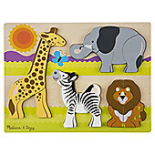 Melissa & Doug Chunky Jigsaw Puzzle - Safari